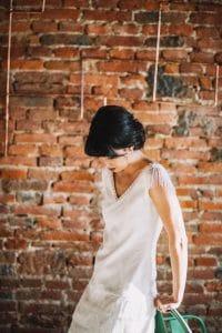 Rock'n'roll, bohème tout en restant chic, apprêtez vous d'une robe coute le jour de votre mariage   Atelier 2B à Toulouse