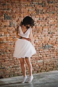 Optez pour une robe de mariée rétro et sur mesure ! | Atelier 2B à Toulouse.